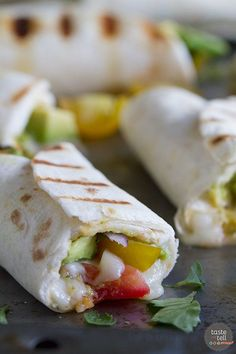 Does your guacamole need a summer makeover?  Try this different twist on guacamole - this Grilled Guacamole Stuffed Tortilla Recipe will be a hit of the backyard BBQ!