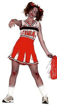 adult SM Zombie  Cheerleader no blood