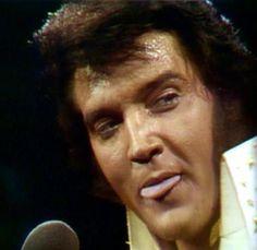 King Elvis Presley on
