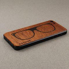 Sipo BackBoard, iPhone Skin with inlaid Ebony Sunglasses