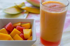 watermelon and mango smoothie