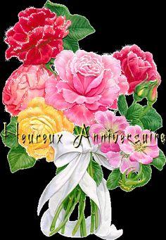 Carte d 39 anniversaire style chinois carte joyeux for Bouquet de fleurs wine
