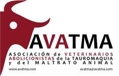 AVATMA logotransparente. Dierenartsen tegen stierenvechten.
