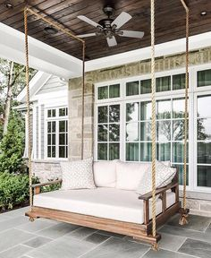 Table of Contents Exactly what is a porch swingExactly how do you accessorize your porch swing?When do you utilize your porch swing?Porch Swing Ideas PicturesRelated Exactly what is a porch swing Porch swing . Read Best Porch Swing Ideas You Will Love Veranda Design, Veranda Ideas, Farmhouse Front Porches, Southern Front Porches, Front Porch Design, Relaxation Room, Relaxing Room, House With Porch, House Roof