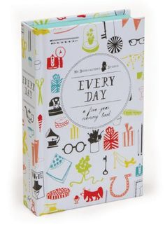Every Day: A Five-Year Memory Book by Mr. Boddington's Studio,http://www.amazon.com/dp/1452113718/ref=cm_sw_r_pi_dp_iMROsb1DYG4PQQDW