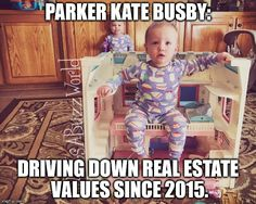 "Parker Kate Busby - one of the Busby Quints from TLC's ""OutDaughtered."" Photo by: Adam Busby."