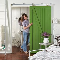 Turn a plain hollow core door into a trendy barn-style door using pine and supawood strips and some Pattex No More Nails adhesive. Attach a sliding mechanism and free up room in your living spaces. Paint the door in your choice of colour to match your home interior. - See more at: http://www.home-dzine.co.za/diy/diy-barn-style.htm#sthash.Ti2dW27M.dpuf