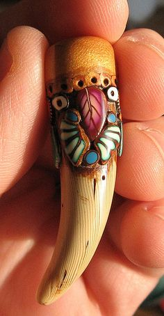 """tooth"" bead view c by jaelsjewels, via Flickr"
