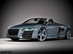 Audi R8 Spyder. This car is awesome!