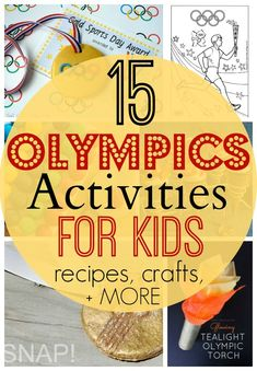 15 Olympics Activities and Treats for Kids! - My Frugal AdventuresYou can find Summer olympics and more on our Olympics Activities and Treats for Kid.