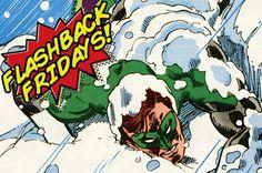Flashback Friday - When Green Lantern Went Blind!