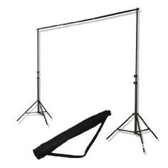 CowboyStudio Backgound Support System - 2x 7 ft Stands, 6' Cross bar and Case for Stands