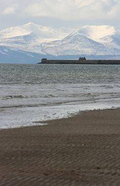 Saltcoats beach, Scotland by Hippysquirrel, via Flickr