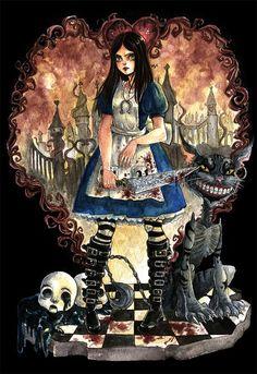 Alice Madness Returns por valentinaba - Videojuegos | Dibujando.net