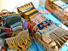 A Community Weaving Project at the Museum of Contemporary Craft « CraftyPod