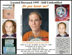 """Officials have confirmed that """"Grateful Doe,"""" who went unidentified for 20 years, is 19-year-old Jason Callahan."""