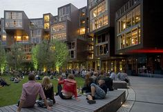 The College Dorm You Wish You Lived In (Copenhagen's Tietgen Student Hall)