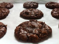 Sinfully Delicious Brownie Batter Cookies. Chocolate Lover's Paradise.