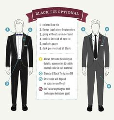 The GentleManual s Guide to the Black Tie Optional Dress Code Black Tie  Optional Wedding 96b98a01b