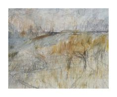 Nicholas Herbert | Recent Drawings Inspired by the Chiltern Hills, 2013 Landscape Drawing of the Chiltern Hills, March 2013 15 x 12cm Mixed media: graphite, colour pencil, soluble crayon and acrylic on white paper signed and dated on reverse