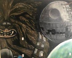 "Matthew Arnold on Instagram: ""#spraypaint #livingthedream #graffiti #chewbacca #spraypaintchewbacca #graffitichewbacca @bombingsci"" Chewbacca, Spray Painting, Graffiti, Street Art, Darth Vader, Fictional Characters, Instagram, Fantasy Characters, Graffiti Artwork"