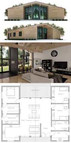 Tiny House Plans 121526889932231015 - Modern House Plans, Modern Home Plans, House Plans Source by New House Plans, Dream House Plans, Small House Plans, House Floor Plans, Building A Container Home, Container House Plans, Container Homes, Container House Design, Modular Home Plans