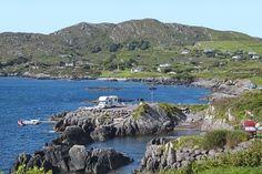 Mit dem Wohnmobil auf dem Campingplatz bei Cahersiveen, Ring of Kerry, Irland Alesund, Lofoten, Mobile Home, Campsite, Caravan, Camper, London, Holiday, Travel