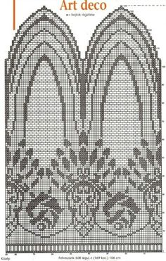 Page 2 of 2 Filet Crochet Curtains