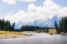 It's impossible to see it all, but this itinerary will help you plan the ultimate Yellowstone and Grand Teton National Parks vacation. Grand Teton National Park, Yellowstone National Park, National Parks, Float Trip, California Camping, Whitewater Rafting, Family Adventure, Vacation Trips, Dream Vacations