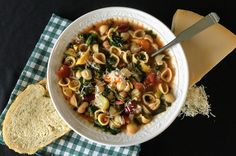 Extra veggie and extra bean-packed one-pot minestrone soup