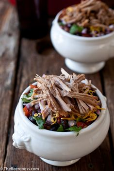 Stout Pulled Pork Chili