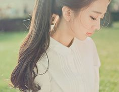 We provided more than free asian beauty, model sexy image galleries Curled Ponytail, Ponytail Girl, Asian Hair, Silky Hair, Girls Makeup, Ulzzang Girl, Hair Day, Pretty People, Her Hair