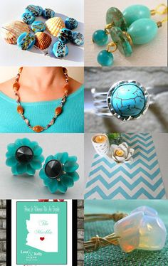 Turquoise To Teal
