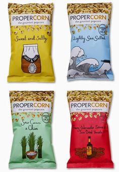 บรรจุภัณฑ์ถุงป๊อบคอร์นน่ารักๆจาก Propercorn จาก Bunjupun.com