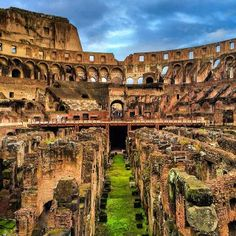 The Colosseum of #Rome is just as stunning now as it was two thousand years ago.    Photo courtesy of brianthio on Instagram.