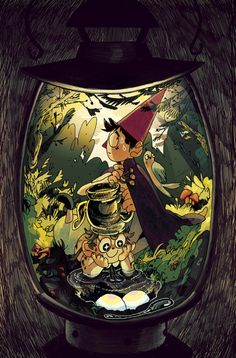 i had the opportunity to do the subscription cover for over the garden wall from boom studios! i had a lot of fun w this- thanks so much to editor whitney leopard! Garden Wall Art, Over The Garden Wall, Comic Books, Animation, Comics, Boom Studios, Fandoms, Opportunity, Fanart