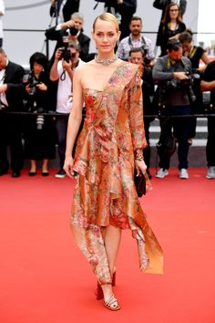 70th Annual Cannes Film Festival - May 2017 - Amber Valletta in Mulberry