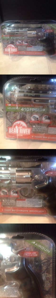 BBs and Pellets 178889: Bear River 4 Inch Bb Chrome Revolver Airgun .177 Cal Co2 Full Metal 6 Cartridge -> BUY IT NOW ONLY: $75 on eBay!