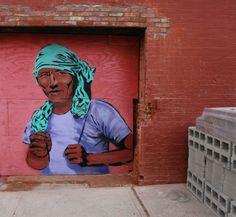 Brooklyn Street Art - Artist: Unknown