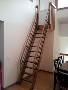 68 Best Barn stairs images | Staircases, Stairs, Attic ladder