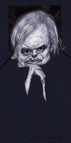 H. R. Giger by Marvin Lorenz