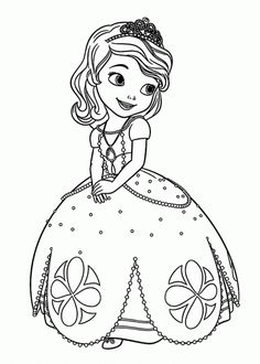 sofia the first disney coloring pages free online printable coloring pages, sheets for kids. Get the latest free sofia the first disney coloring pages images, favorite coloring pages to print online by ONLY COLORING PAGES. Coloring Pages For Girls, Cartoon Coloring Pages, Coloring Pages To Print, Free Printable Coloring Pages, Coloring Book Pages, Coloring For Kids, Disney Princess Coloring Pages, Disney Princess Colors, Disney Colors