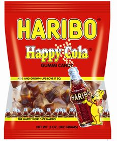 Haribo Happy Cola. Another great fave of my European youth!