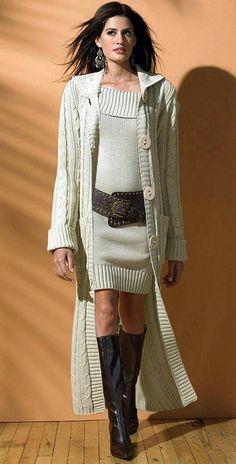 belted sweaterdress ♥✤ | Keep the Glamour | BeStayBeautiful