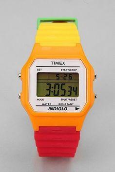 Grymt snygg!   Fancy - Timex 80 Colorblock Watch http://www.thefancy.com/things/234155482279839341/Timex-80-Colorblock-Watch#