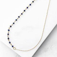 Bleu Asymmetrical Choker - Gold   Boho Chic Jewelry