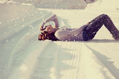 Fashion,Girl,Hair,Snow,Style - inspiring picture on PicShip.com