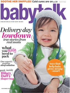 A great deal I just found from PinFreeOffers.com   - free subscription to babytalk