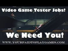 Video Game Tester Jobs: http://yourpaidtoplaygames.com Land the Ultimate Video Game Tester Jobs today.