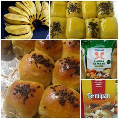 Banana Recipes, Easy Cake Recipes, Bakery Cakes, Indonesian Food, Pastry Recipes, Creative Food, Good Food, Food And Drink, Tasty